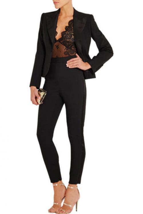 С чем носить черное боди с длинным рукавом. Модели