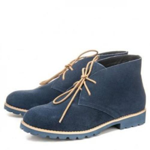 Синие ботинки с чем носить. С чем носить синие ботинки