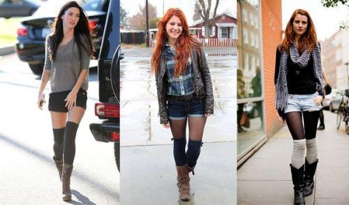 Гетры модные. Зачем нужны женские гетры и с чем их носить, модные образы