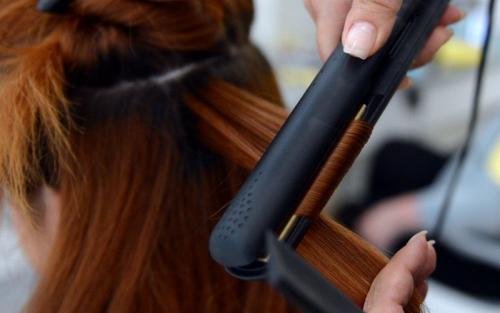 Инфракрасный утюжок для волос. Холодный утюжок для волос
