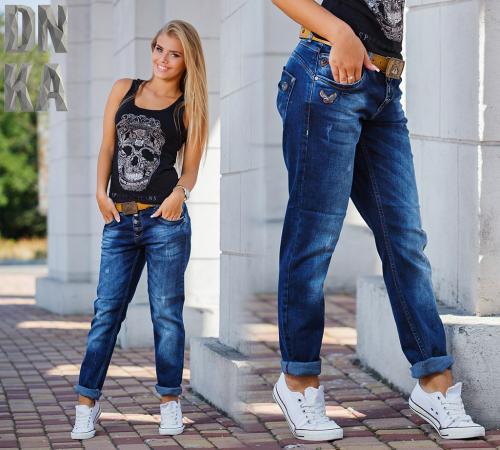 Кому идут джинсы бойфренды. Джинсовые брюки бойфренды – женское очарование с брутальным налетом