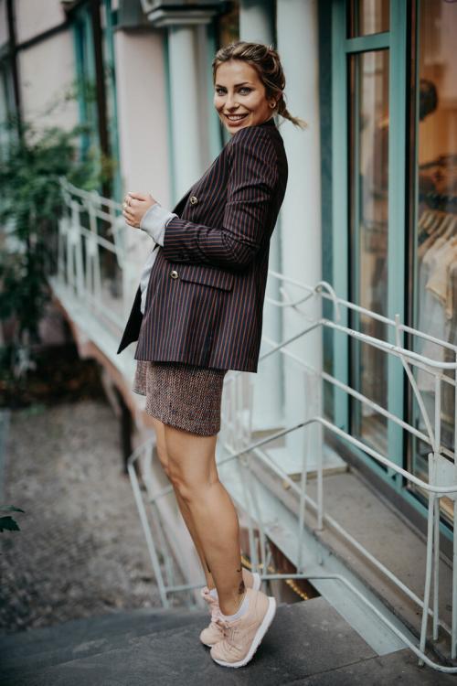 Юбка из твида с чем носить. С чем носить твидовые юбки. Модные образы
