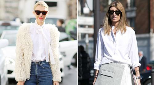 Как носить и с чем женскую белую рубашку. Как носить белую рубашку и не выглядеть скучно: 30 стильных образов