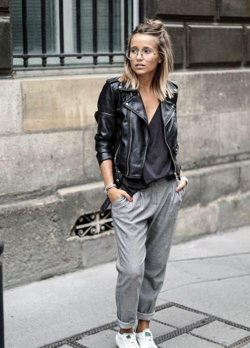 С чем носить брюки джоггеры женские. Что собой представляют