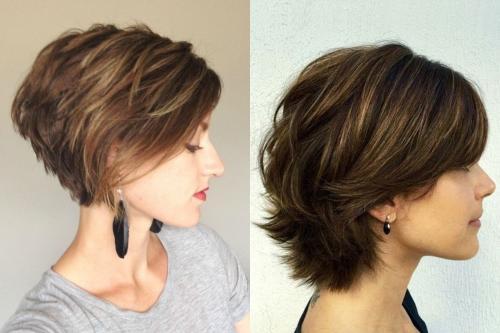 Объемные стрижки на средние волосы. Секреты правильного выбора объемной стрижки
