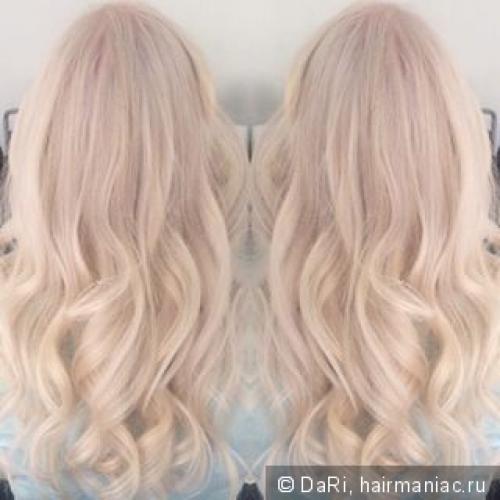 Краска эстель блонд без желтизны. Возможен ли белоснежный блонд без осветляющего порошка? Попробуем!