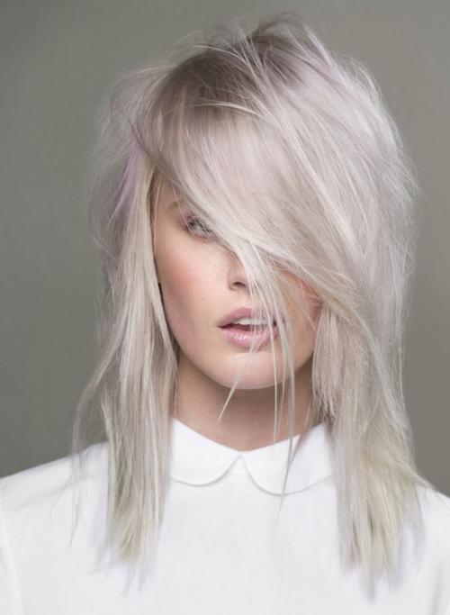 Холодный блонд в домашних условиях. Как избавиться от желтизны волос. Холодный блонд.