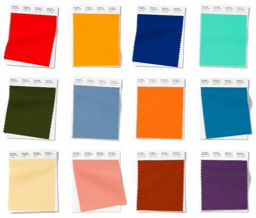 Какие цвета модны. Модныецветавесна-лето 2020