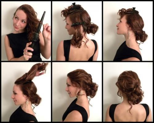 Прически для длинных и тонких волос своими руками. Быстрые и легкие прически для длинных волос своими руками