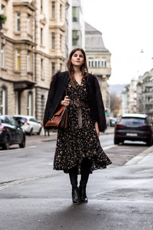 Верхняя одежда к длинному платью. Какая верхняя одежда подойдет к длинному платью?