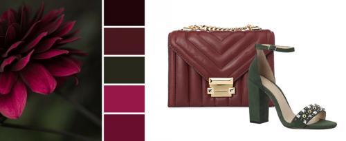 Марсала сумка с чем носить. С чем носить бордовую сумку?