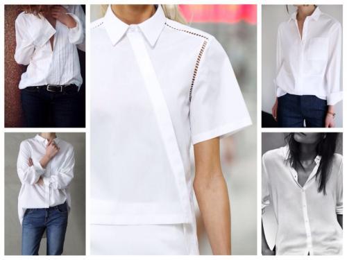 Образы с белой рубашкой. Как выбрать «свою» белую рубашку?