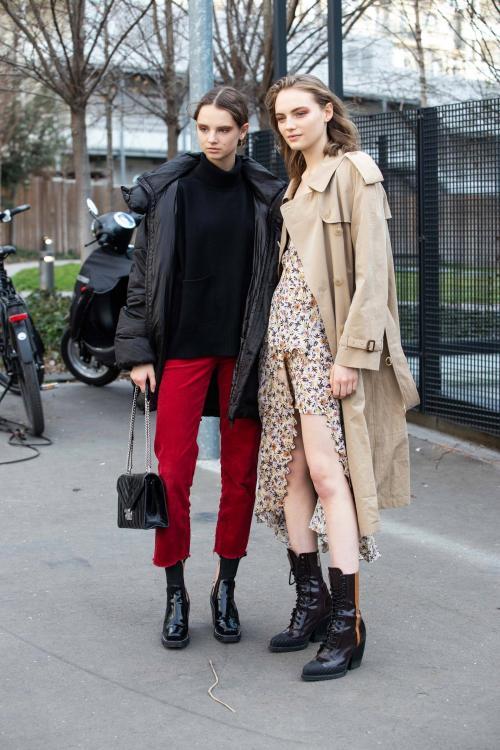 Уличная мода осень 2019. Уличная мода осень-зима 2019-2020 для женщин