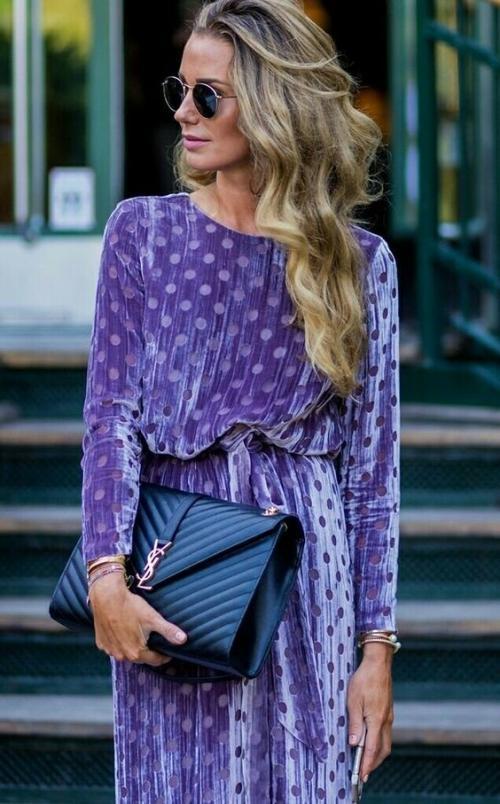 С чем носить платье с бархата. Бархат - ткань для королевы! Как носить бархатную одежду в повседневных образах