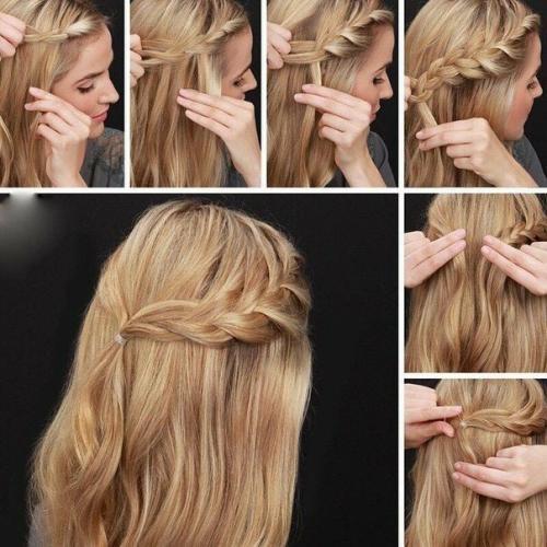 Быстрые прически на тонкие волосы. Варианты на стрижку средней длины