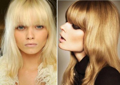 Блондинки с челкой прически. Блондинки с челкой: они возвращаются