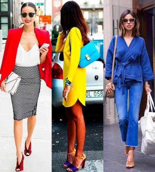 Какой в моде цвет одежды. Модные сочетания цветов в одежде 2019-2020 года