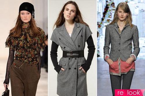 Пальто в елочку женское с чем носить. Коллекция принтов: елочка