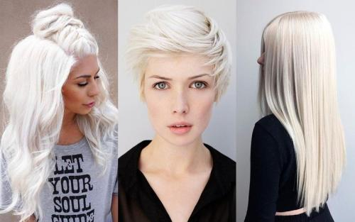 Стрижка на длинные волосы блонд. 7 стильных причёсок для платиновых блондинок