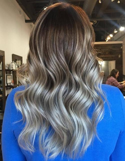 В какой цвет покрасить волосы. Идеи окрашивания волос для брюнеток