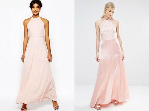 С чем носить длинное платье 2019. Цветовая гамма длинных платьев