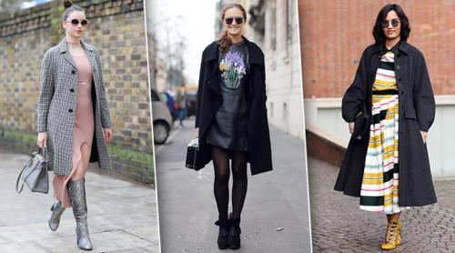 Под длинное платье верхняя одежда. Как носить платья зимой: 25 стильных образов на каждый день
