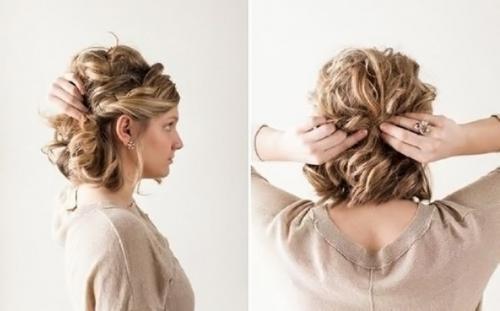 Свадебные прически для кудрявых волос. 3 классных прически для кудрявых волос