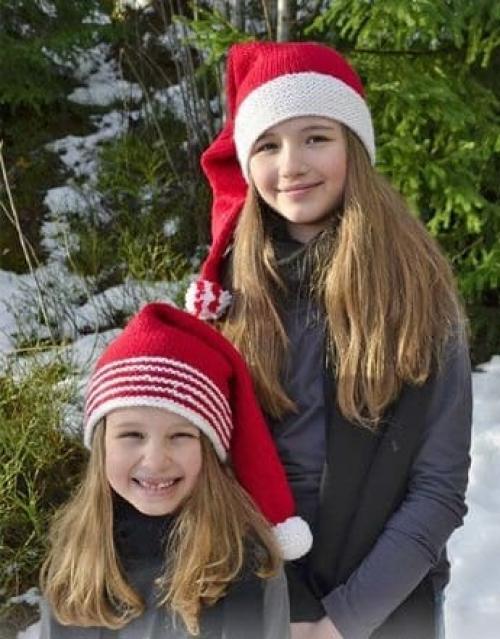 Шапка колпак. Новогодние вязаные шапки колпаки — 3 модели