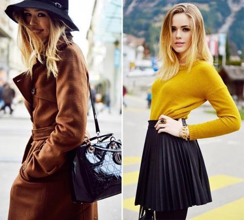 Какие цвета идут блондинкам. Брюнеткам вход запрещен: какие цвета в одежде идут всем блондинкам без исключения 13