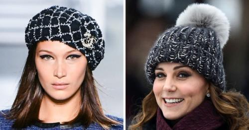 Шапку с помпоном с чем носить. Модные головные уборы осени изимы— 2019/2019, которые позволят оставаться стильной влюбую погоду