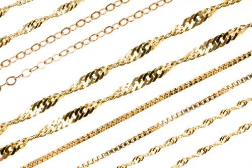 Виды плетения золотых цепочек для женщин. Виды плетения золотых цепочек