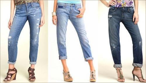 Женские джинсы подворачивать джинсы. Когда на своих джинсах можно сделать подвороты?