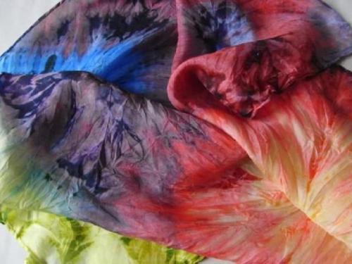 Чем покрасить синтетическую ткань в домашних условиях. Как и чем покрасить ткань в домашних условиях