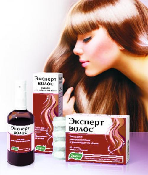 Эксперт волос спрей. Средства «Эксперт волос» от компании «Эвалар»: спрей, таблетки, шампунь