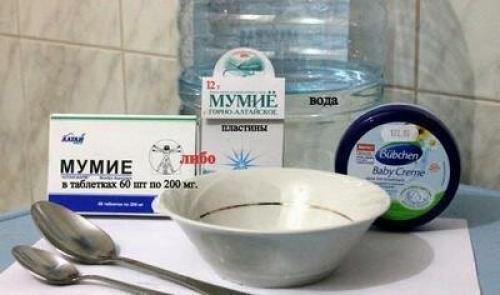 Мумие для тела рецепты. Рецепты приготовления крема из мумие